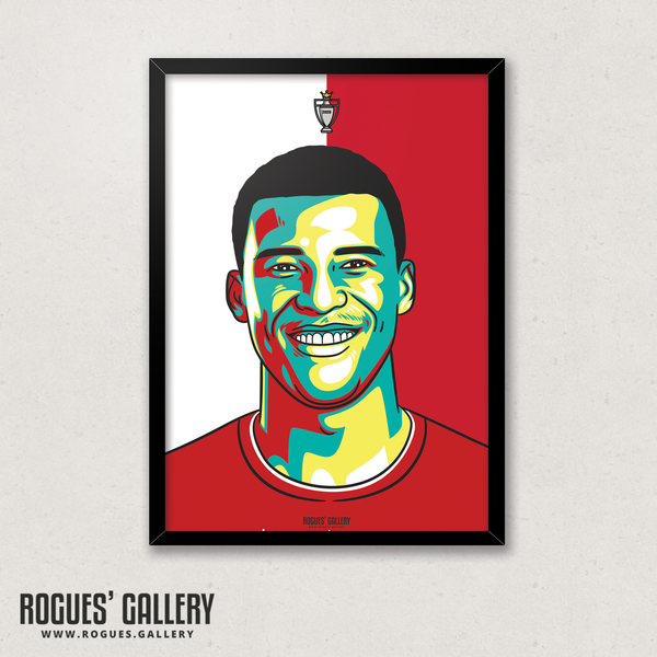 Wijnaldum Midfielder Liverpool FC Anfield Art print A3 Champions Limited Edition Dutch Premier League title