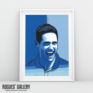 Chris Woakes England Cricket World Cup CWC2019 Winners art print A3 edit