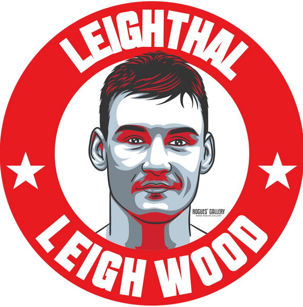 Leigh Wood Leighthal Sticker #GetBehindTheLads