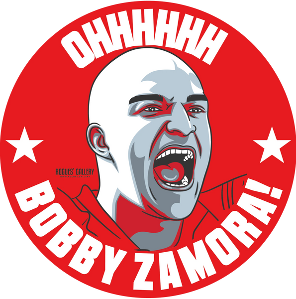 Bobby Zamora QPR Forward Deluxe stickers #GetBehindTheLads