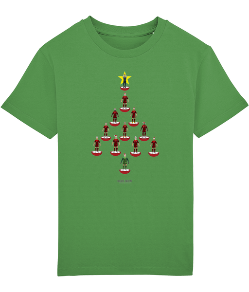 3 Lions Xmas Tree Deluxe Kid's T-Shirt