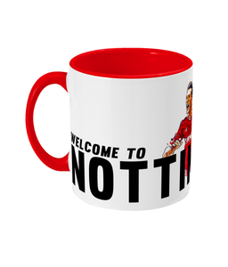 Model Pro Welcome To Nottingham Mug