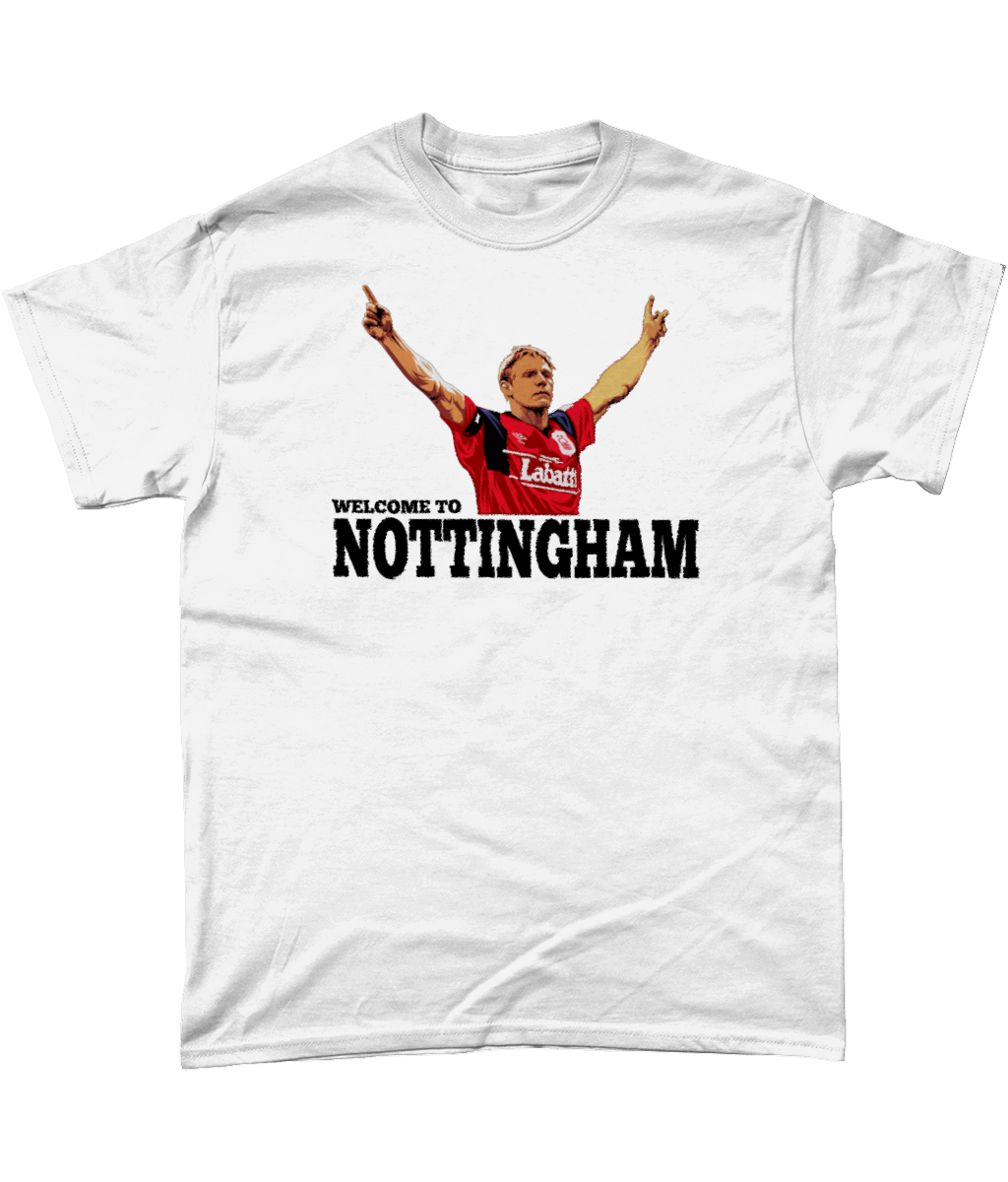 Psycho 'Welcome To Nottingham' Budget T-Shirt
