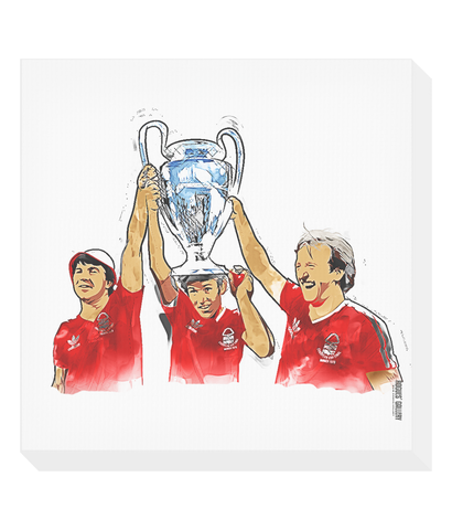 European Cup Winners Canvas