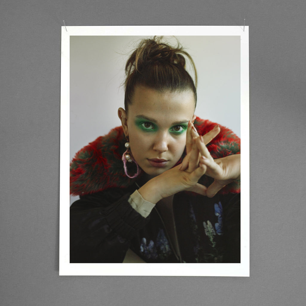 Millie bobby brown wears de cosmi meduse earrings in t the new york times style