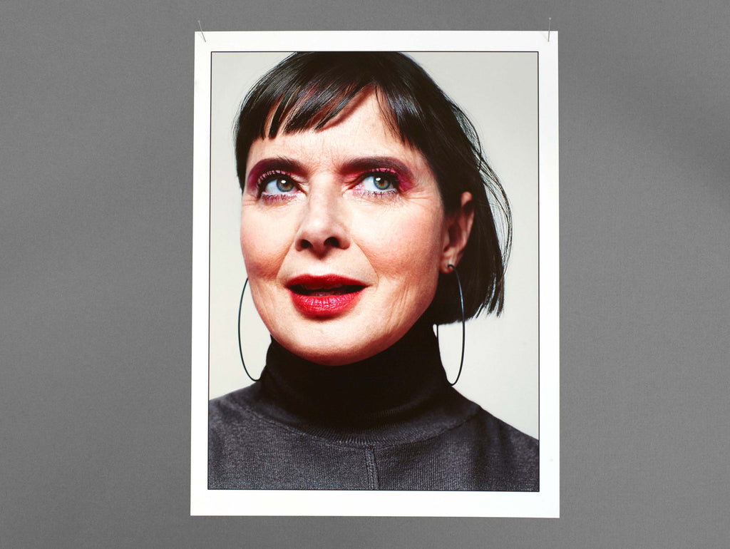 Isabella Rossellini wears de Cosmi by Catherine Servel Lido Earrings