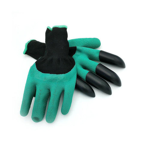 'Clawed' Rubber Gardening Gloves for Digging and Planting