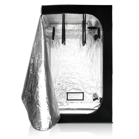 Indoor Mylar Reflective Hydroponics Grow Tent, 47x47x78 Inches