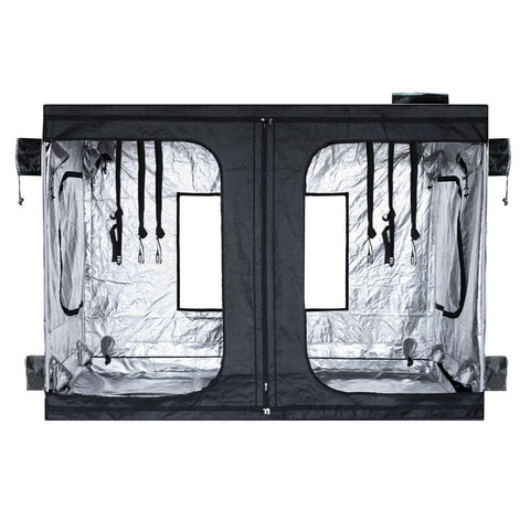 Indoor Reflective Mylar Hydroponics Grow Tent, 94x94x78 Inches