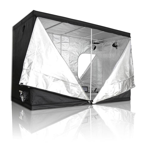 Indoor Reflective Mylar Hydroponics Grow Tent, 118x59x78 Inches