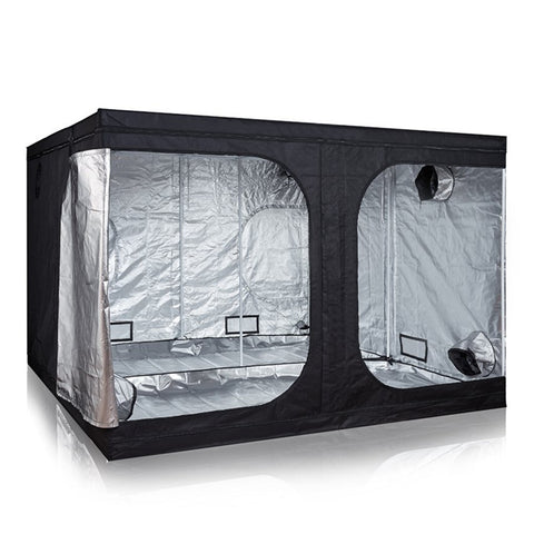 Indoor Reflective Mylar Hydroponics Grow Tent, 118x118x78 Inches