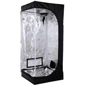 Indoor Mylar Reflective Hydroponics Grow Tent, 31x31x63 Inches
