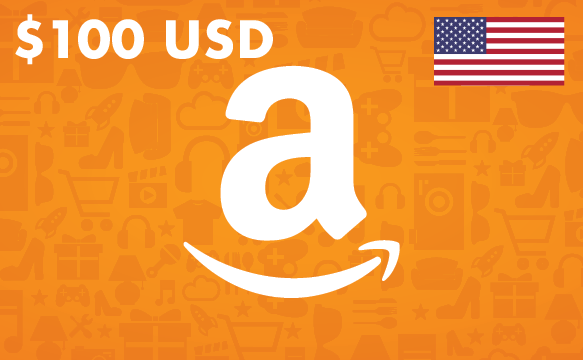 $100 Amazon Gift Card (U S  Dollars) — You Pay $165 CAD you get a $100 USD  Gift Card