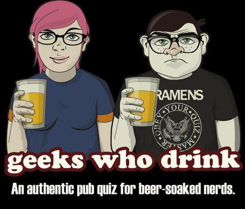 Geeks Who Like to Drink TRIVIA NIGHT