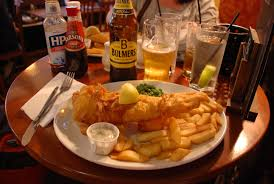 Fish and Chips Entree