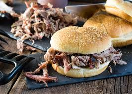 Smoked Pork Sandwich