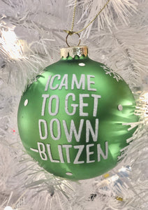 Blitzen Ornament