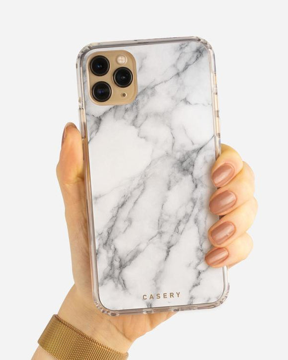 White Marble Phone Case (All Sizes)