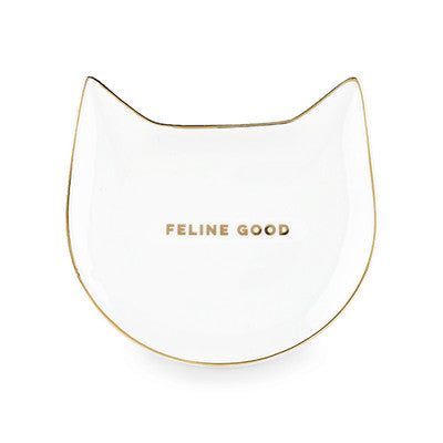 CAT TEA TRAY: FELINE GOOD