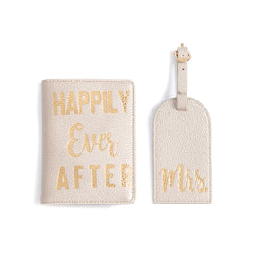 Happily Ever After Passport & Luggage tag set