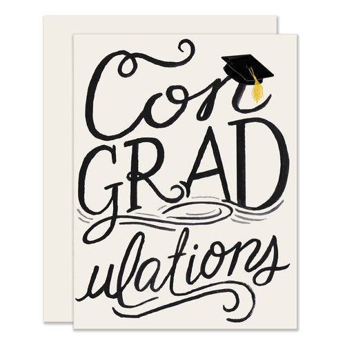 Con-GRAD-ulations Card