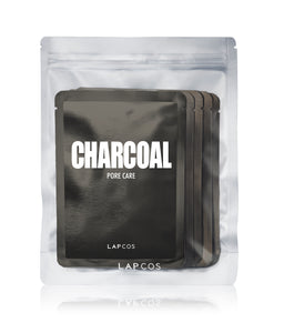 Charcoal Pore Care Daily Sheet Mask- Set of 5