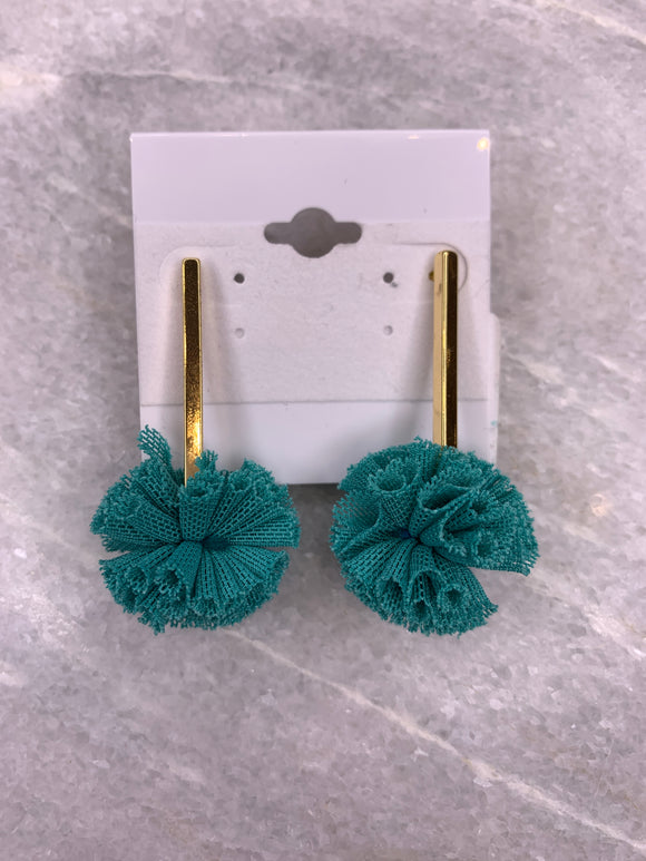 Turquoise Bar Earring