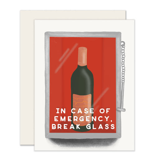 Emergency Wine Card