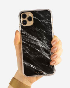 Black Marble Phone Case (All Sizes)