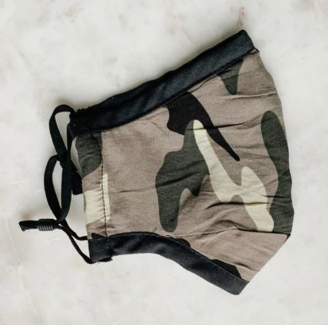 Camo Face Masks ( 3 colors)