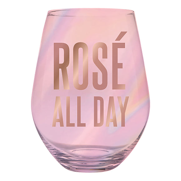 Rose All Day Jumbo Wine Glass