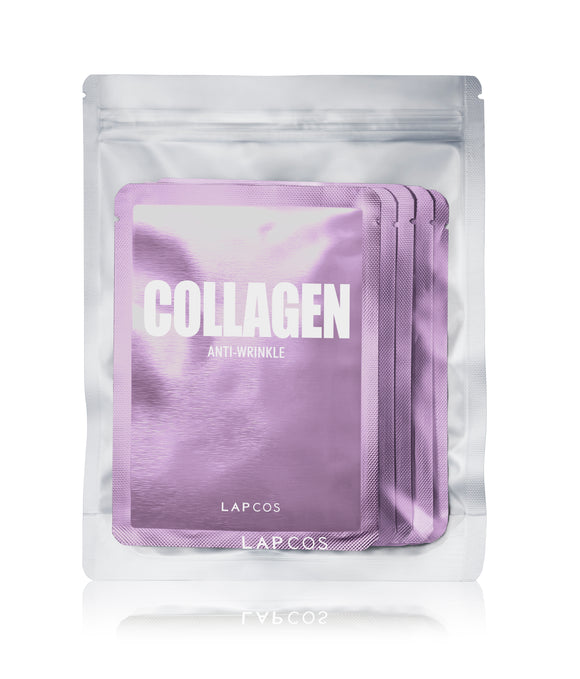 Collagen Anti Wrinkle Daily Sheet Mask- Set of 5