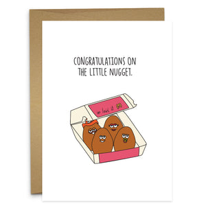 Congrats on the Little Nugget Card