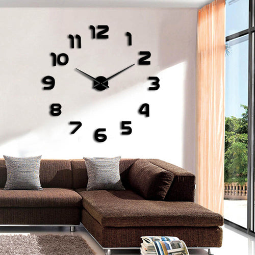 CHICKS LOVE BIG CLOCKS!  TIME TO PARTY! Giant Wall Clock.