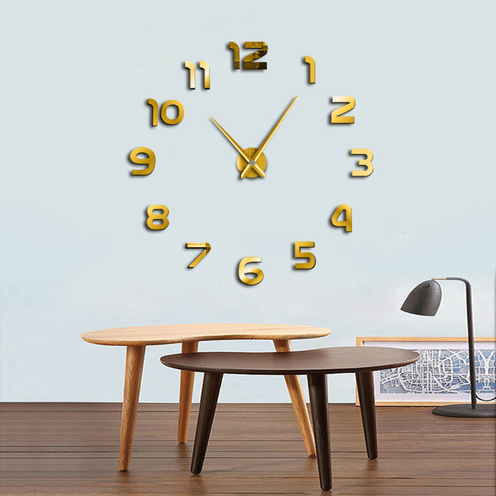 Chicks Love Big Clocks Time To Party Giant Wall Clock Fecal