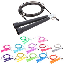 Skipping Ropes Cable Steel Adjustable Fast Speed. ABS Handle Jump Ropes Crossfit Training Boxing Sports Exercises