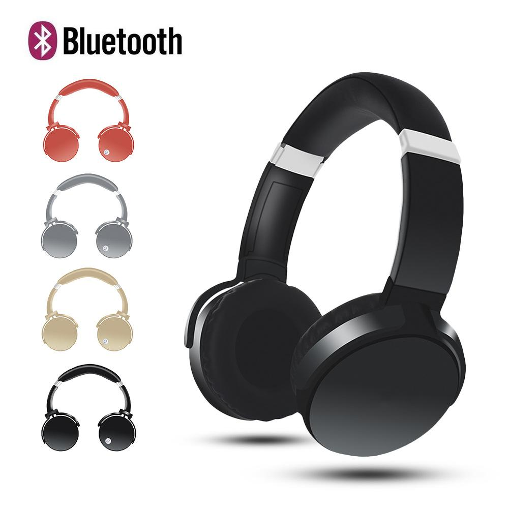 BIG MOUTH Cancelling Bluetooth Headphones , Wireless Headset Deep Bass Stereo Headphones with Mic for Cell Phone use