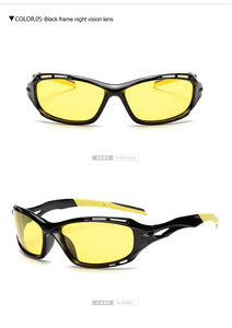 NINJA GAMER GLASSES! Warrior Brain! Yellow Lens No Stress Vision Goggles