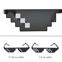 UVLAIK Deal With It Glasses 8 bits Thug Life Sunglasses Women Men Dealwithit Popular Around the World Party Funny Eyewear