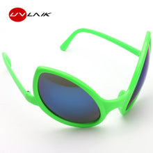 UVLAIK Funny Alien Eyes Sunglasses Men Costume Mask Novelty Glasses Women Party Supplies Decoration Gift Photobooth Props