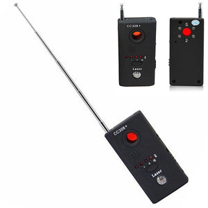 Anti Spy Cam Detector, Audio Bug Finder. New Wireless Radio Wave Signal RF Camera GSM Device Findr