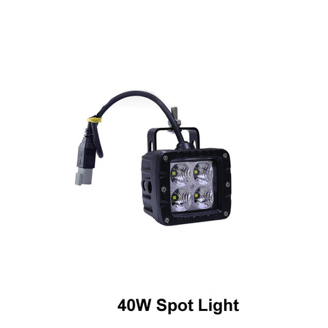 "Thunder and Lighting - Aurora 2"" 40W Spot Work Light"