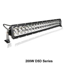 "Load image into Gallery viewer, Aurora 200W 20"" D5D Double Row Light Bar"
