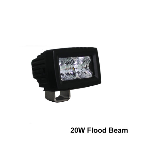 "Thunder and Lighting - Aurora 2"" Single Row Flood Light Bar"
