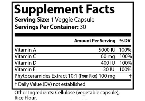 Ageless Anti-Aging Supplement Ingredients