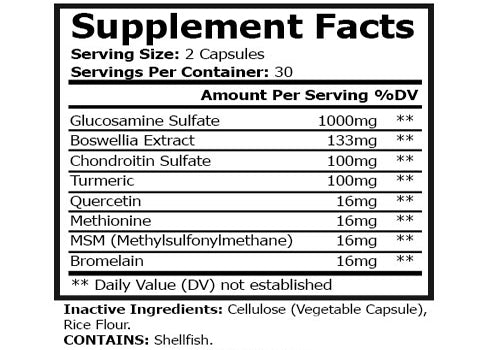 Joint Protection and Support Supplement