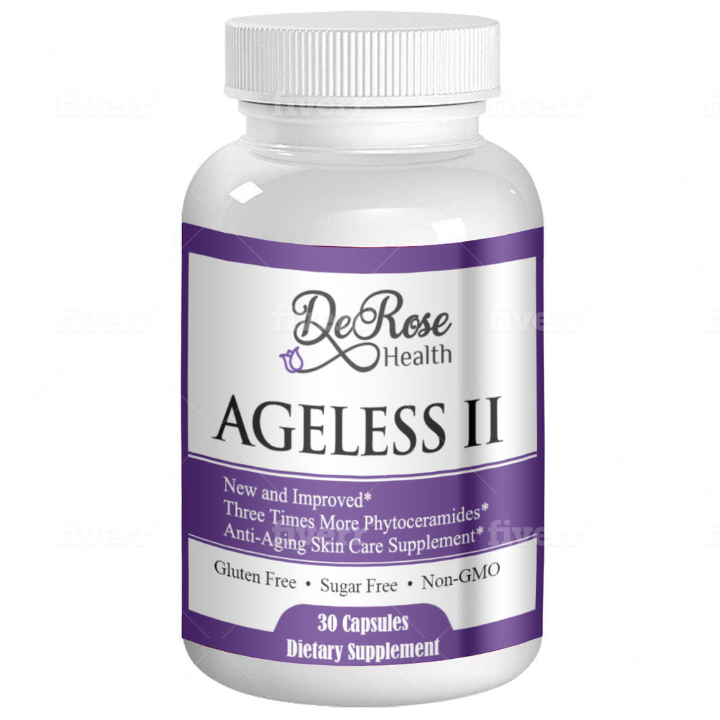Ageless II - Plant Derived Ceramides - New and Improved
