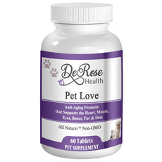 Pet Love - Anti-Aging Formula Supports the Heart, Mouth, Eyes, Bones, Fur & Skin