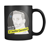 JustIn My Podcast Coffee Mug