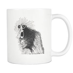 Screaming Monkey Spiff Chimp Original Coffee Mug